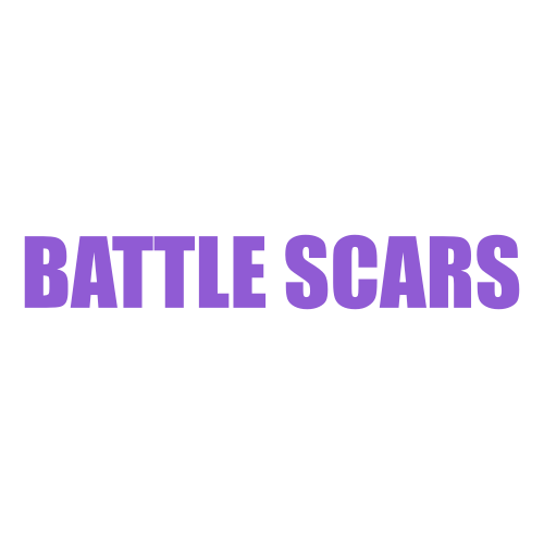 Battle Scars Decal