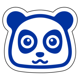 Adorable Cute Panda Sticker
