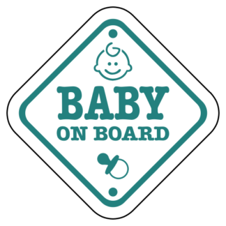 Baby On Board Sign Sticker