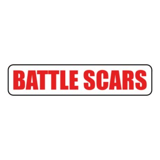 Battle Scars Sticker