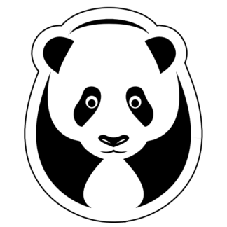 Big Panda Sticker