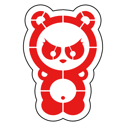 Dangerous-Panda-Sticker