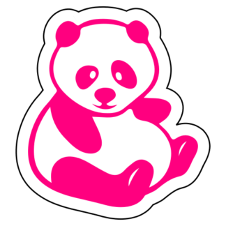 Fat Panda Sticker