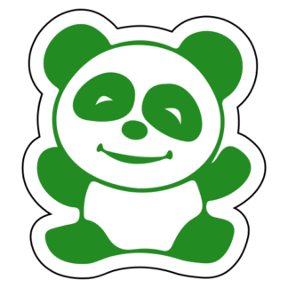 Happy Panda Sticker