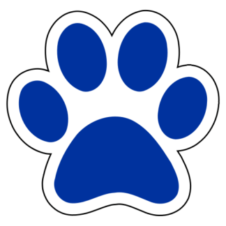 Paw Sticker (Blue)