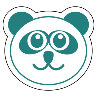 Smiling Panda Sticker
