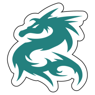 Tribal Dragon Sticker