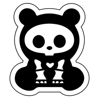 X-Ray Panda Sticker