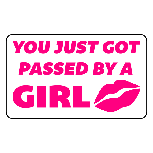 You-Just-Got-Passed-By-A-Girl-Sticker